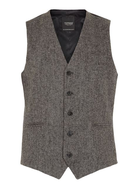 topman usa grey tweed waistcoat topman usa style pinterest shops gray and suits