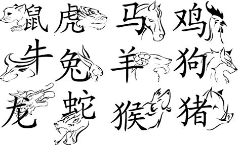 new year animal symbols how many characters are there