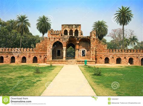 Garden City Of India Lodi Garden In Delhi City India Royalty Free Stock