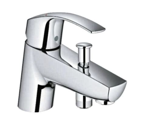 single lever bath shower mixer tap grohe eurosmart single lever bath shower mixer tap chrome 33412002