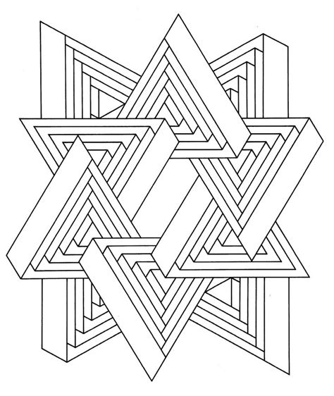 printable simple optical illusions free optical illusion coloring pages coloring home