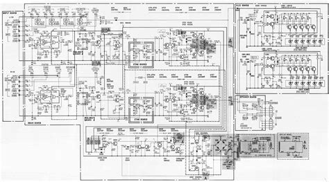 integrated lifier schematic sony ta f30 integrated stereo lifier circuit diagram electro help