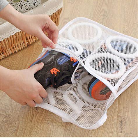 washing shoes sneaker tennis sports shoe laundry net wash washing