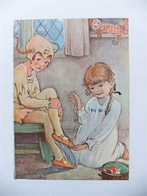 Home Decor Barrie by Home Decor Barrie Mabel Attwell Picture Pan J M Barrie