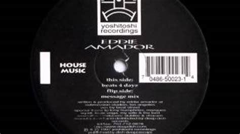 house music eddie amador vid 233 o clip eddie amador house music original extended vinyl mix