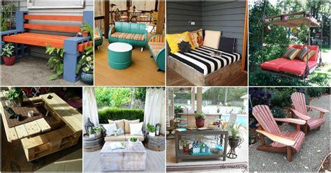 brilliant diy backyard furniture ideas   give