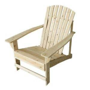 adirondack chairs home depot unfinished adirondack chair 11061 1 the home depot