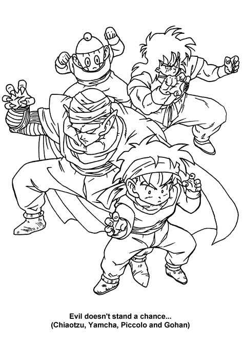 boo dragon ball z coloring pages coloring pages