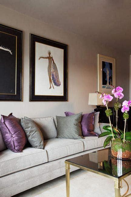 purple home decor ideas modern home decorating ideas blending purple color into