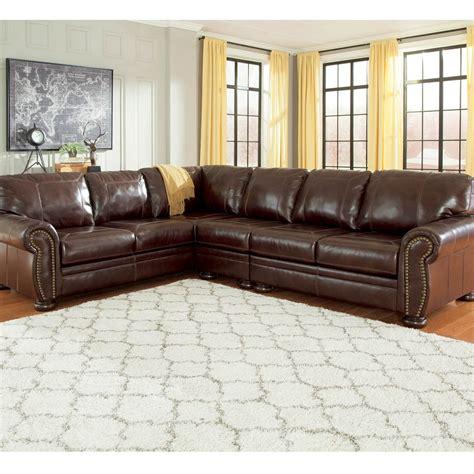 ashley raf sofa sectional signature design by ashley banner 3 pc sectional raf