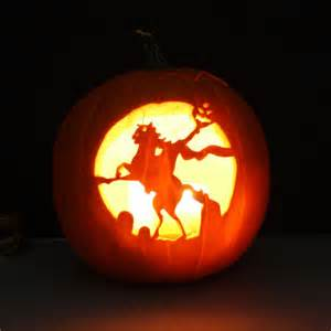 2shea creative pumpkin carving templates headless horseman halloween pinterest creative