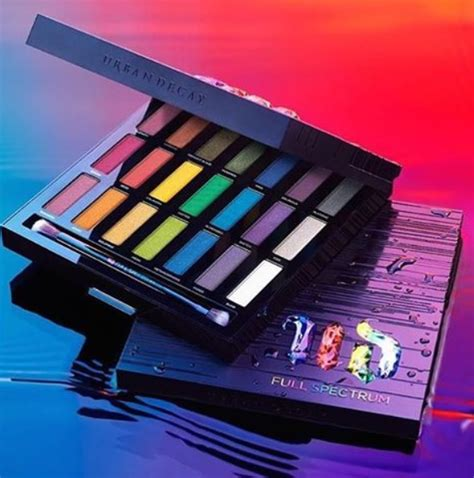 Decay Eyeshadow Palette decay spectrum eyeshadow palette launches with