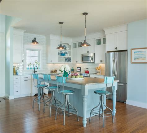 coastal inspired kitchens kitchen coastal inspired accents of neutral palettes for