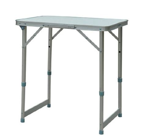 Folding Table With Handle Outsunny Aluminum Cing Folding C Table With Carrying Handle 23 5 Inch X 17 5 Inch