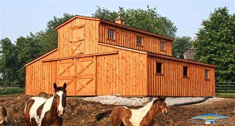 Pole Barn With Apartment Plans Monitor Modular Horse Barn Monitor Barn Horizon Structures