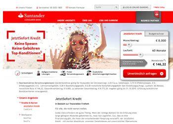 santander bank kredit erfahrung kredit 214 sterreich kredite beim testsieger 2018