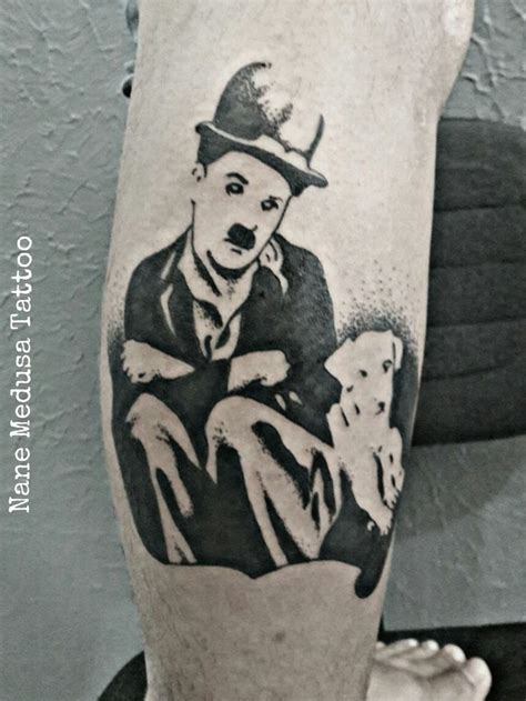 charlie tattoo designs 9 best chaplin tattoos images on