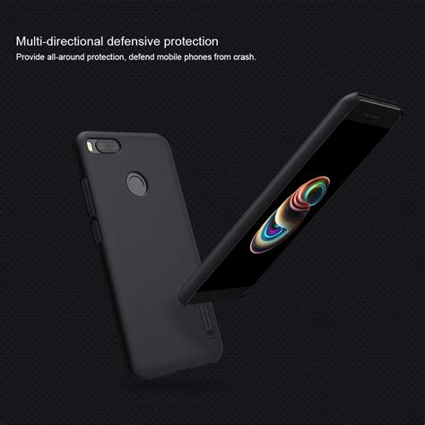 Casing Xiaomi Mi5x New Custom nillkin frosted shield back for xiaomi mi5x black price in dubai uae awok