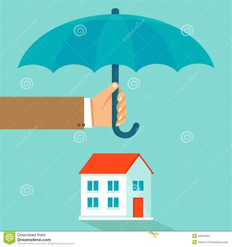 over 50 house insurance vector house insurance concept in flat style stock vector image 45644554
