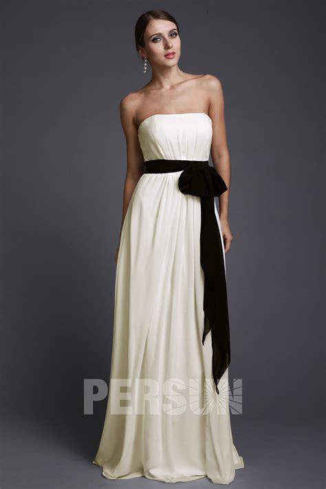 Robe Blanche Simple Pour Mariage - robe 224 la mode robe blanche invite mariage