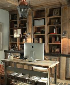 Awesome Home Office by 42 Awesome Rustic Home Office Designs Digsdigs