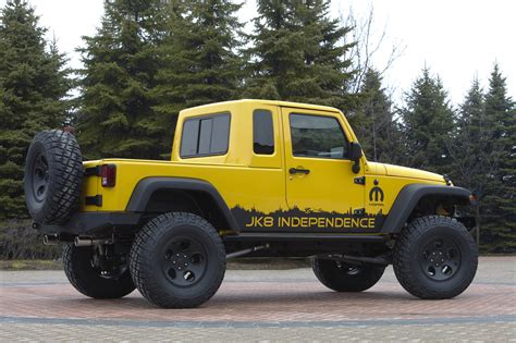 Jeep Announces New Wrangler Unlimited Pickup In Kit