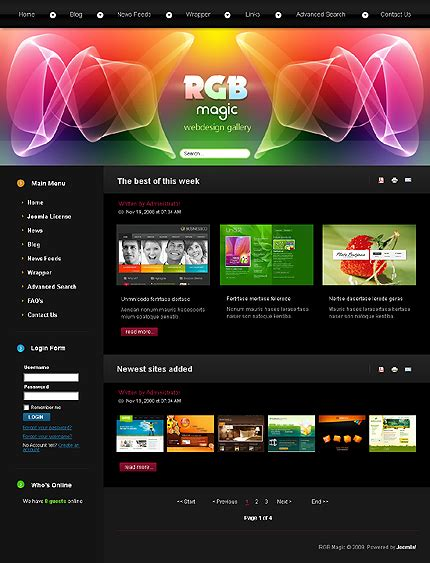 home and design websites web design joomla web template web design pinterest