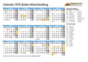 Kalender 2018 Feiertage Baden Württemberg Kalender 2018 Baden W 252 Rttemberg Zum Ausdrucken 171 Kalender 2018