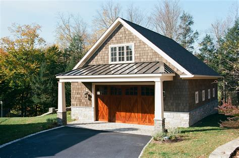 Garage Overhang Lean To Overhangs The Barn Yard Great Country Garages