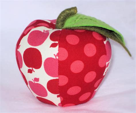 Pattern For Fabric Apple | craft sew create apple for teacher