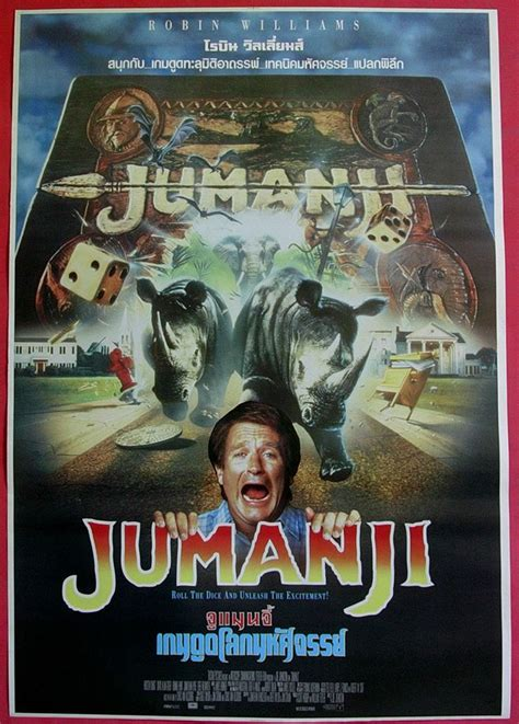 film jumanji online gratis jumanji thai movie poster 1995 robin williams jumanji