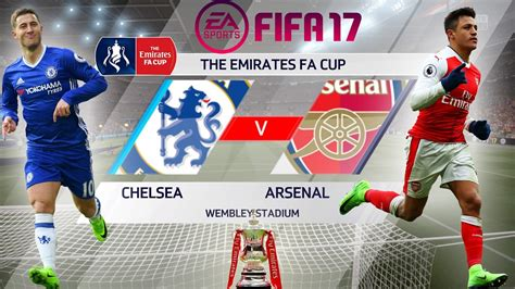 Patch The Emirates Fa Cup 2017 fifa 17 arsenal vs chelsea the emirates fa cup 2017 ps4 xbox gameplay