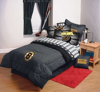 boston bruins comforter laurens linens boston bruins denim comforter sheet set combo