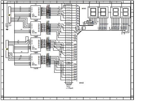 membuat jam digital tanpa mikrokontroler membuat jam digital menggunakan at89s51 membuat jam