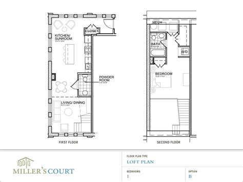 1 bedroom with loft floor plans 1 bedroom loft floor plans 2 story 1 bedroom loft house