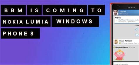 Nokia Lumia Yang Bisa Bbm jadi yang pertama mencoba quot bbm quot beta untuk nokia lumia windows phone 8 8 1