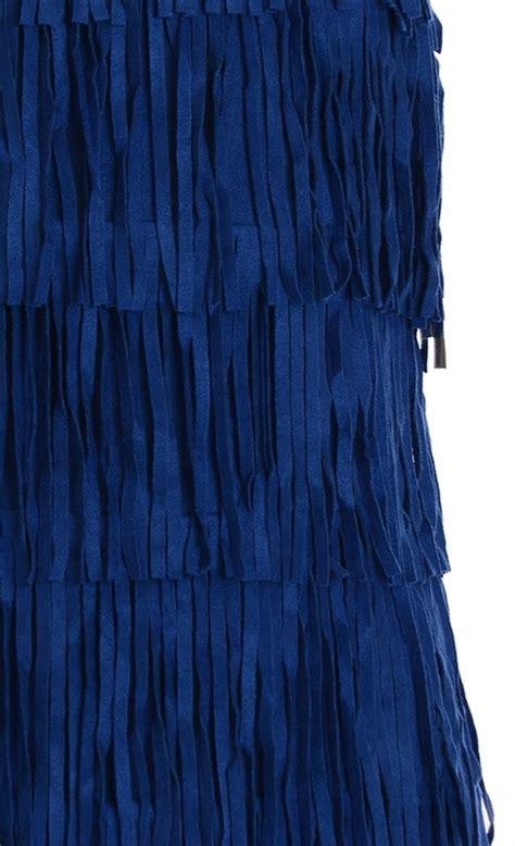 Dress Elisa Blue A elisa b tween fringe dress in blue