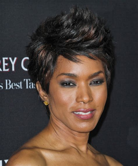 cheap haircuts tyler tx angela bassett short straight casual hairstyle black