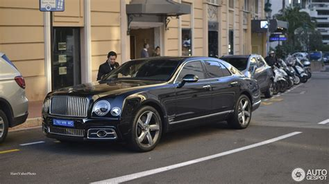 bentley mulsanne blacked bentley mulsanne speed 2016 first edition 23 january
