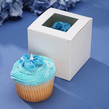 cupcake box with window cupcake boxes with window 1 dz by 46445 buy