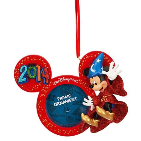 your wdw store disney christmas frame ornament 2014