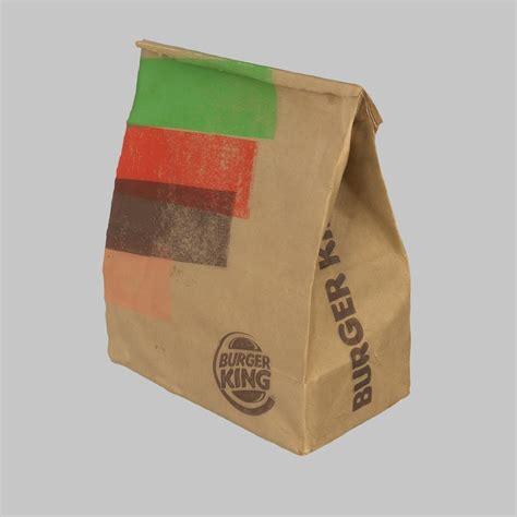 Burger Bag by 3d Burger King Bag