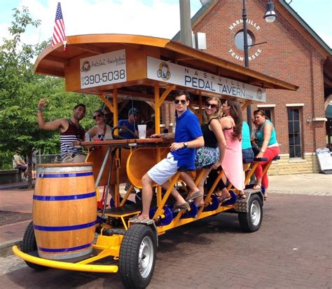 paddle boat rental nashville traveling peddle bar pedal tavern free bikes among many