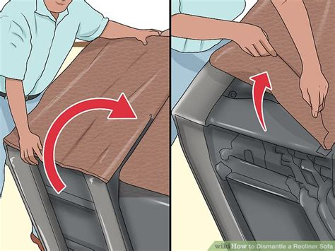 how to disassemble recliner sofa how to take apart lazy boy recliner sofa scifihits