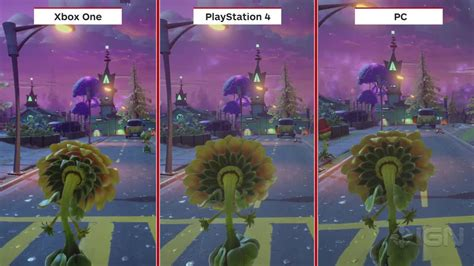 Ps4 Plant Vs Zombies Garden Warfare 2 Plants Vs Zombies Garden Warfare 2 Graphics Comparison