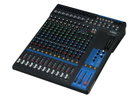 Mixer Yamaha Mg 16 yamaha mg 16 mixer at low prices at huss light sound