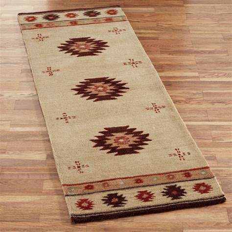 southwest wool rug runners