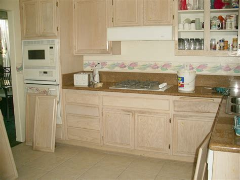 refinishing wood cabinets