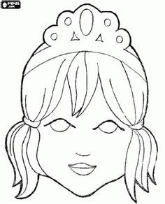 princess mask coloring pages printable masks for print on cardstock and laminate