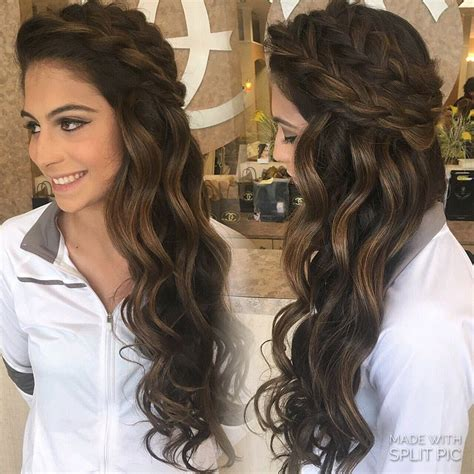 pageant style curling hair wedding hairstyles half up half down best photos big